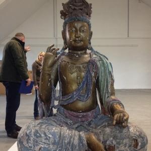 Buddha Figur Transport