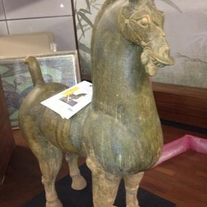Der Antike Pferd Figuren Transport für Auctionata Auktionshaus